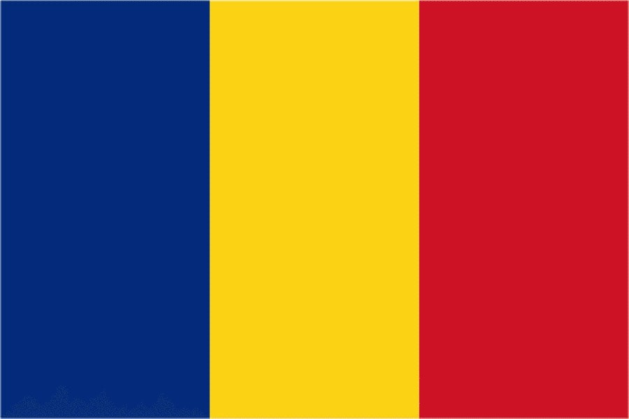 Флаг Румынии / румынский 150 на 90 см, интернет-магазин флагов