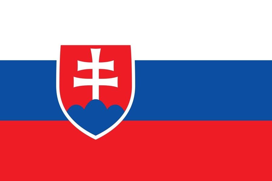Флаг Словакии / словацкий / Словакия 150 на 90 см, интернет-магазин флагов