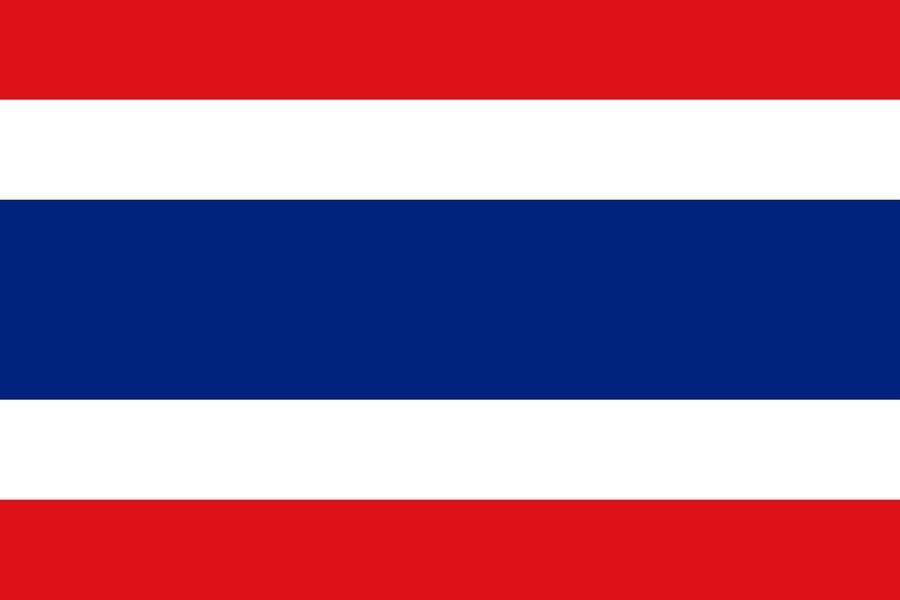 Флаг Таиланда / тайский / Таиланд размер 150 на 90 см, флаги стран мира, организаций и штатов