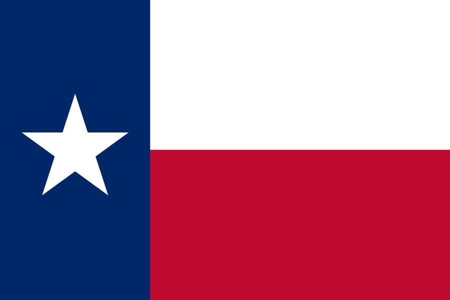 Флаг Техаса / техасский / штат Техас размер 150 на 90 см, флаги стран мира, организаций и штатов