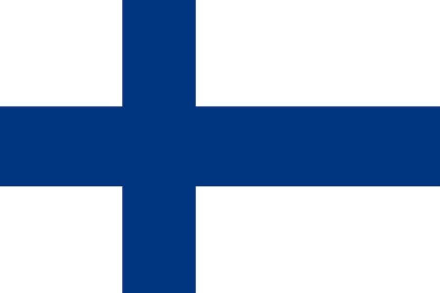 Флаг Финляндии / финский / Финляндия размер 150 на 90 см, флаги стран мира, организаций и штатов