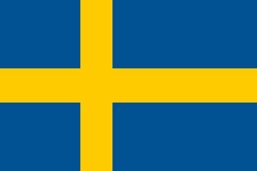Флаг Швеции / шведский / Швеция размер 150 на 90 см, флаги стран мира, организаций и штатов