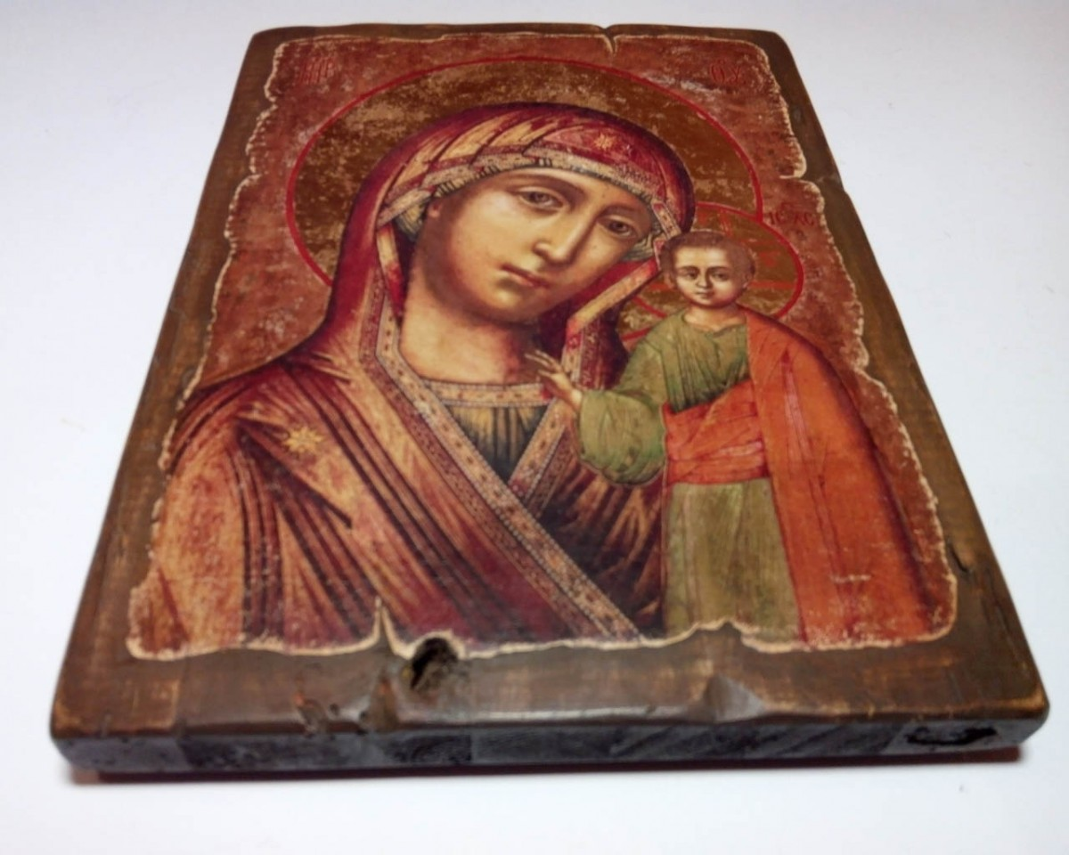 Купить Икону Казанской Божьей Матери | Сделаем на Заказ