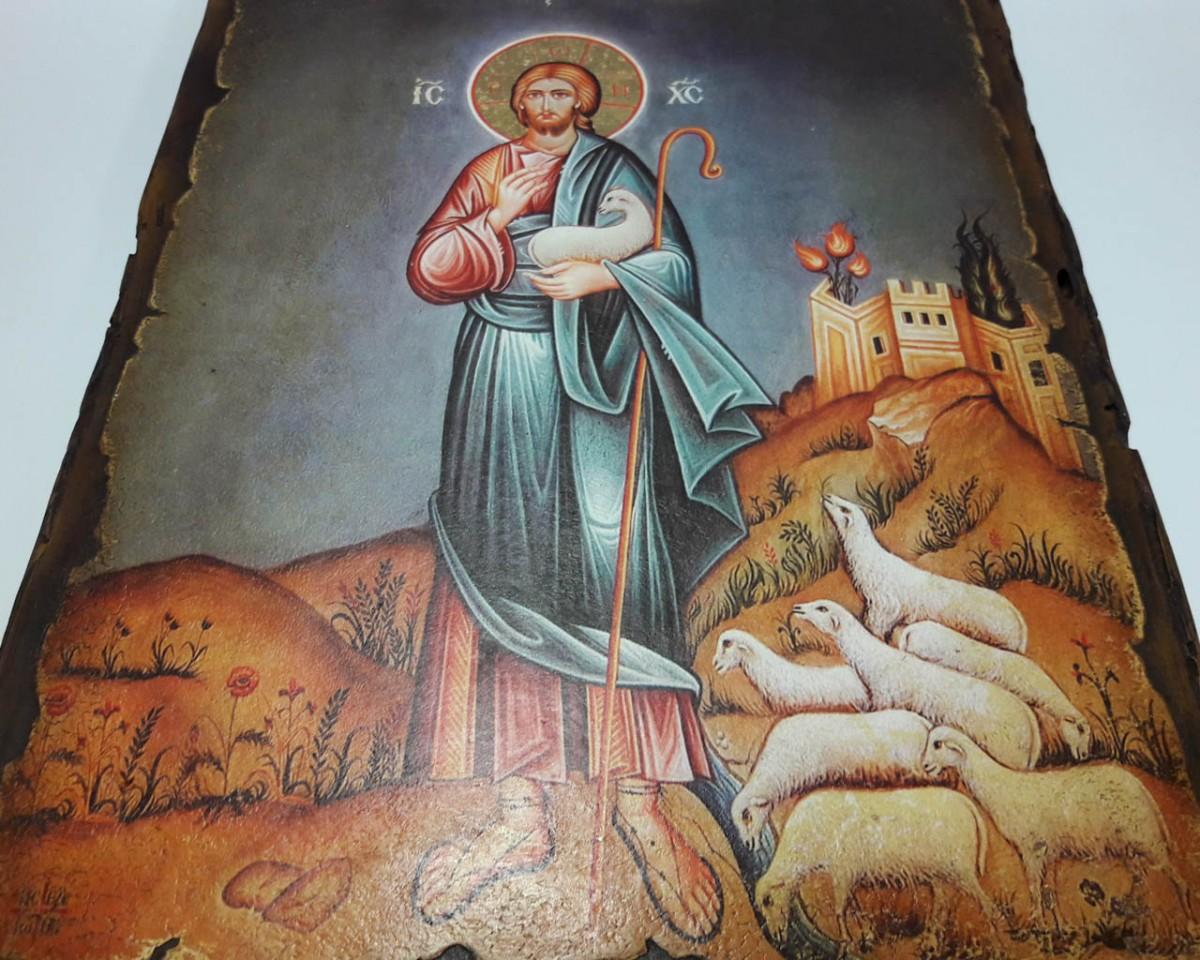Купить Икону Пастырь Добрый | Готовые и на Заказ