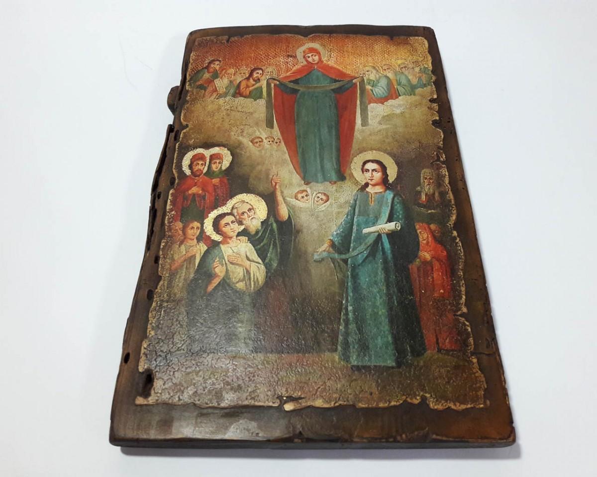 Купить Икону Покров Пресвятой Богородицы | на Заказ