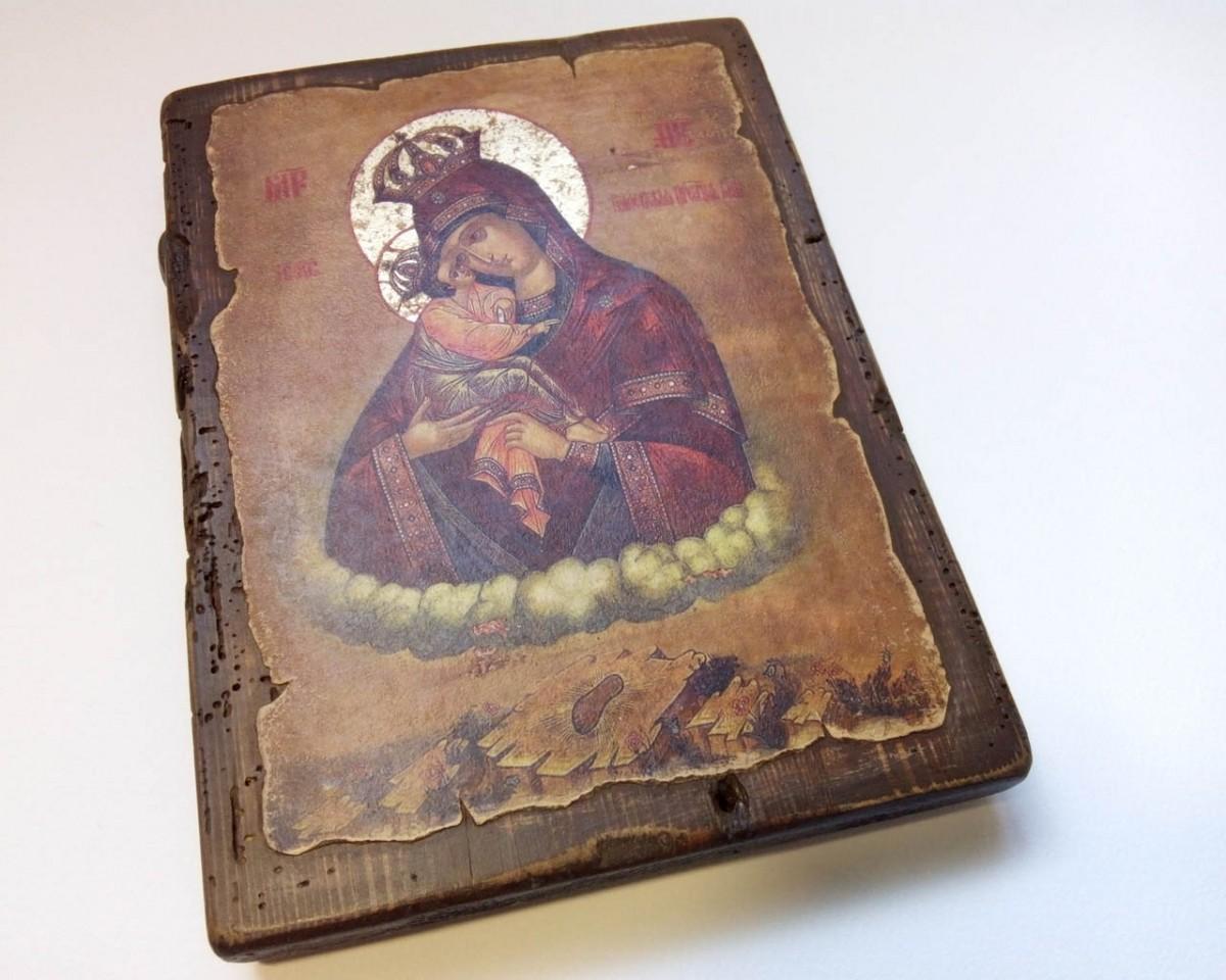 Купить Почаевскую Икону Божьей Матери | Готовые и на Заказ