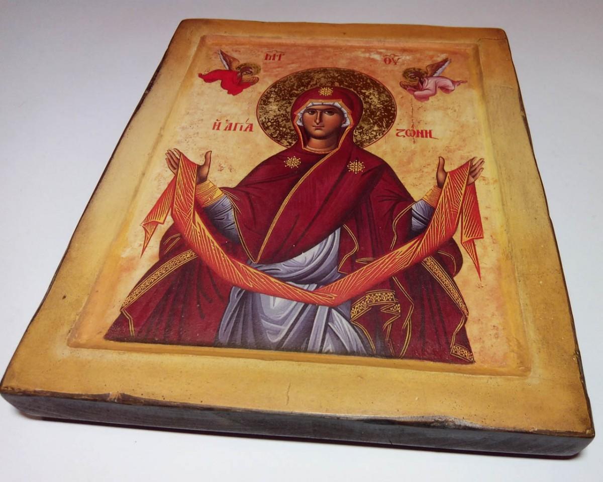 Купить Икону Пояс Пресвятой Богородицы | Сделаем на Заказ