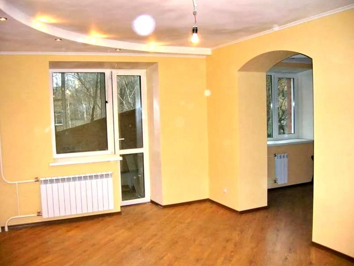 Обробка стелі в хрущовці / отделка квартиры.