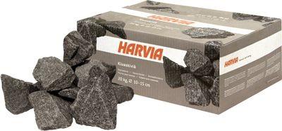 Камни для сауны и бани HARVIA (Финляндия), 20 кг в упаковке