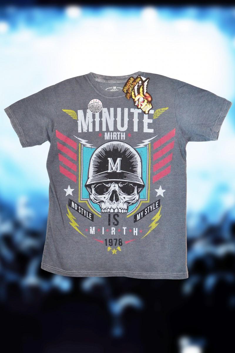 Крутая футболка Minute Mirth (Affliction, Ranger Up, Remetee)