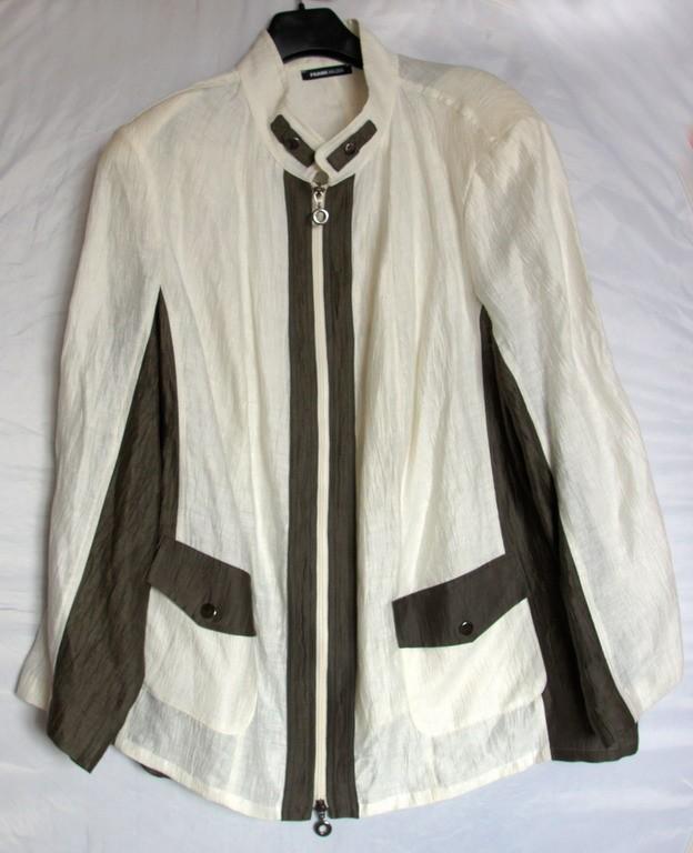 Стильный пиджак блузон Frank Walder, размер XL