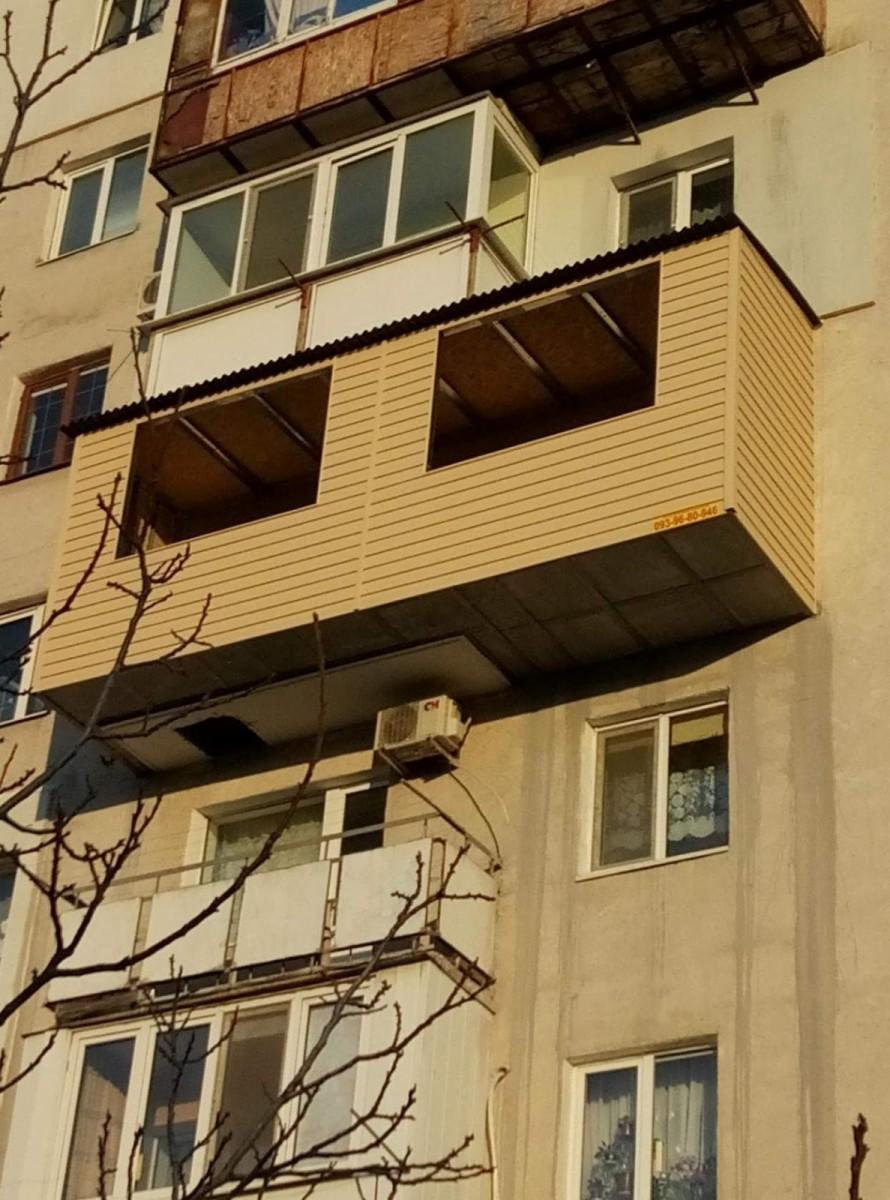 Балконы под ключ: 30 000 грн - бизнес и услуги / строительст.
