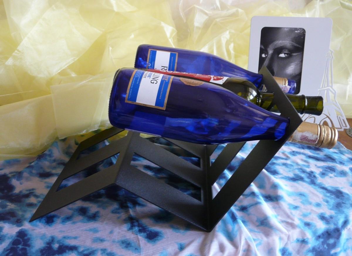 Подставка винная настольная, на 3 бутылки