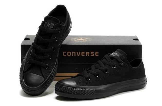 Кеды Converse All Star only black