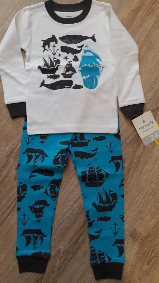 Пижама Carters на 2 года (83-86 см)