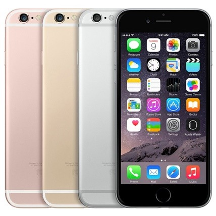 Apple iPhone 6S 16Gb Space Grey/Gold/Silver/Rose Gold (Refurbished)