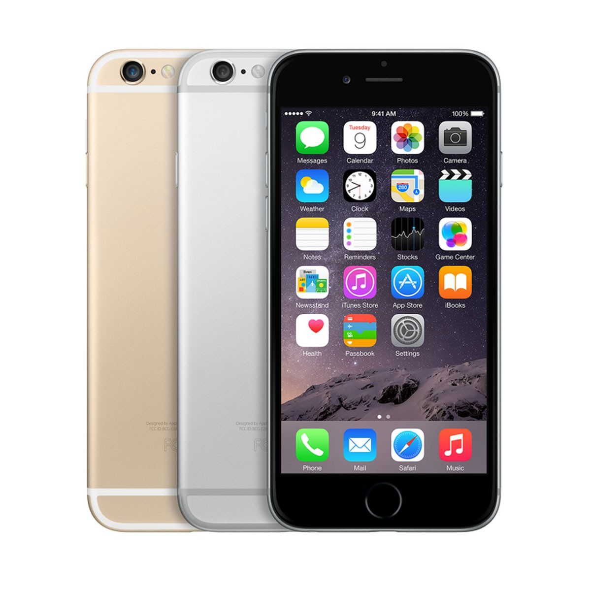 Apple iPhone 6 128 Gb Space Grey/Gold/Silver (Refurbished)