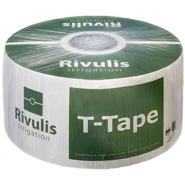 Капельная лента T-Tape 5 mil-20 см (3658 м)