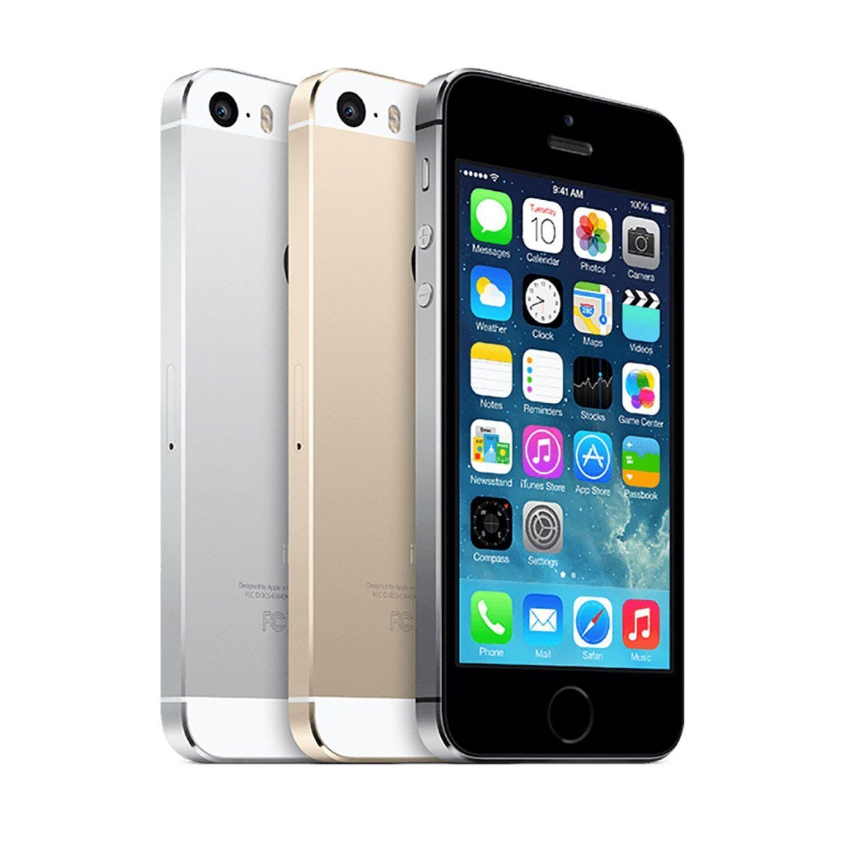 Apple iPhone 5S 32Gb Space Grey/Gold/Silver (Refurbished)