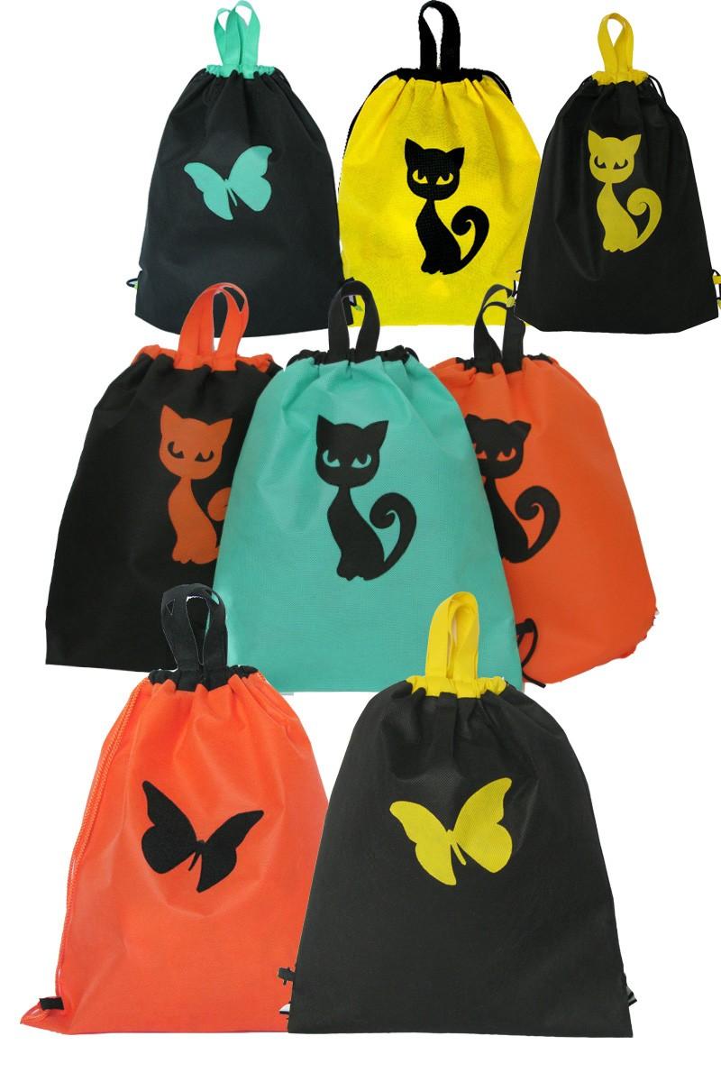 Рюкзак на затяжке (сумка - рюкзак) для школы, спорта, сменки