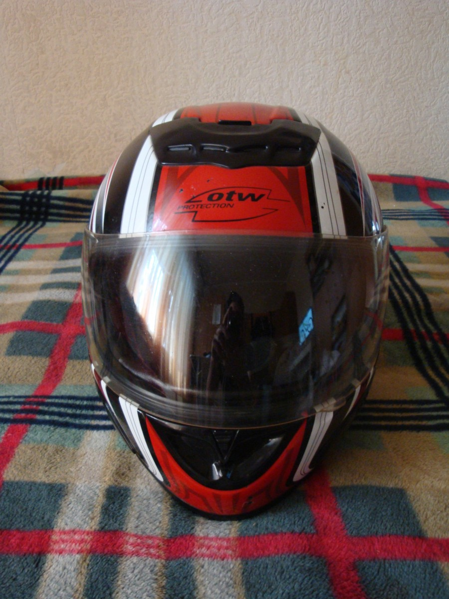 Шлем Мото OTW р. XS для подруги или девушки. Подростку на картинг.
