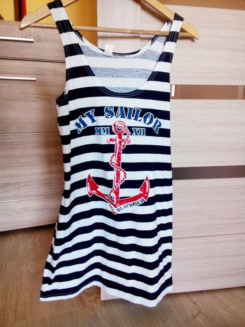 Платье в полоску летнее легкое