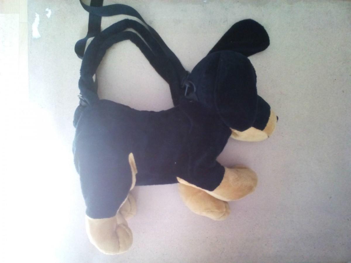 Игрушка-сумка собака