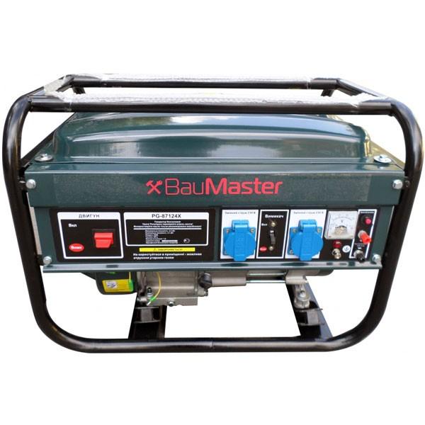 Однофазный бензиновый генератор BauMaster PG-87124X