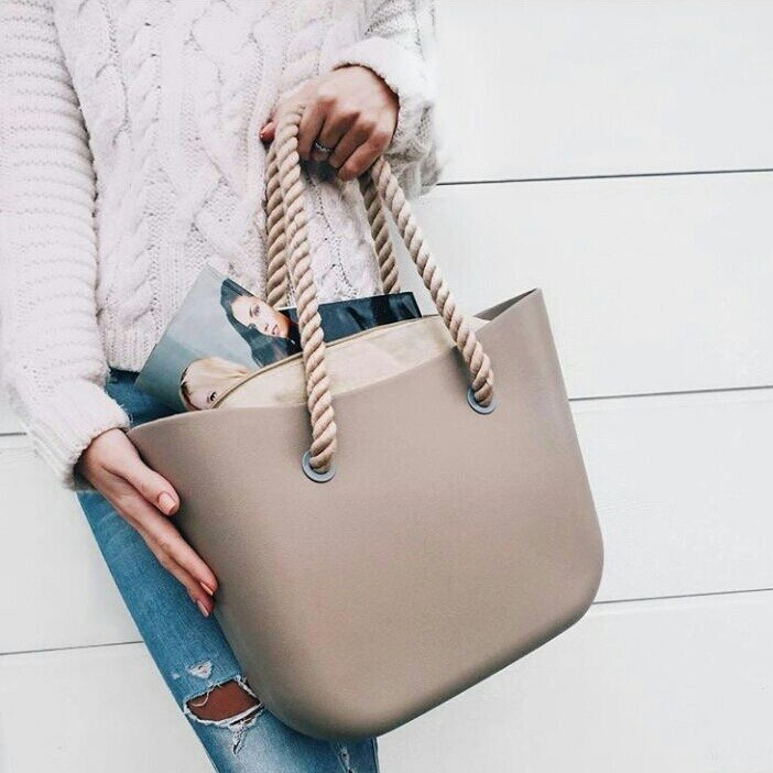 450a4c68cc97 Модные каучуковые сумки O bag obag о бег обэг