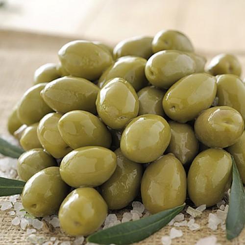 Греческие натуральные бочковые оливки