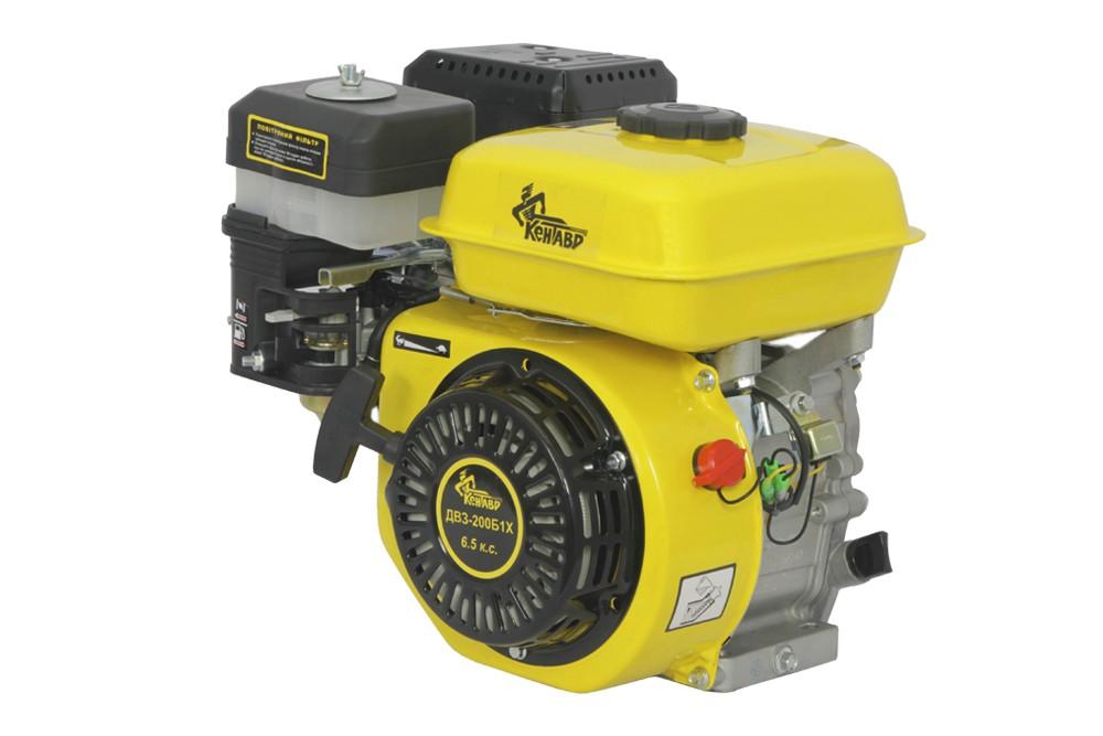 Бензиновый двигатель Кентавр ДВС-200Б (6,5 л.с., вал 19 мм)