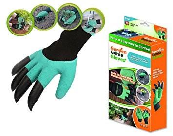 Рукавиці для роботи в саду і городі Garden Genie Gloves