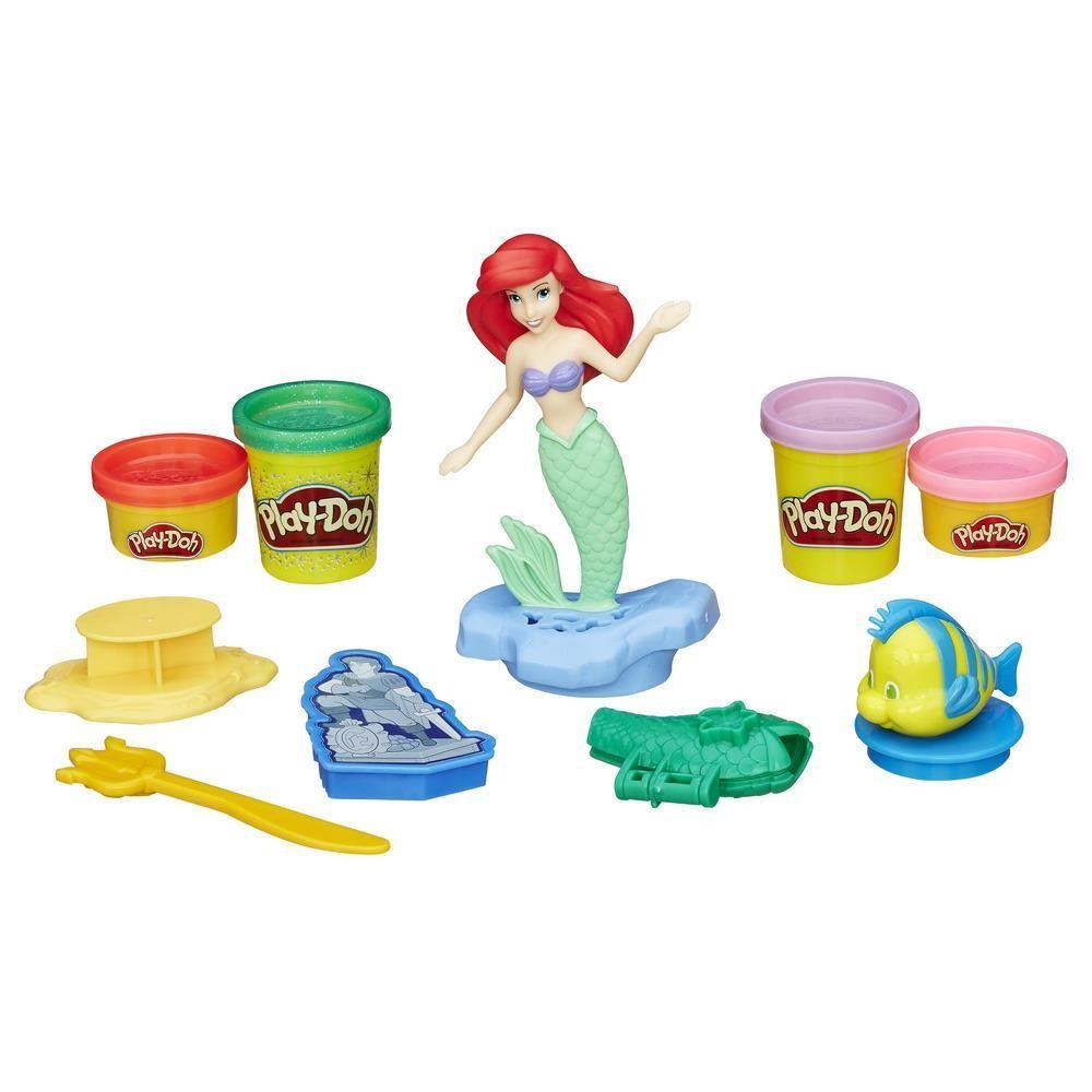 """Play-Doh Игровой набор """"Ариэль и друзья"""" Русалка Дисней"""