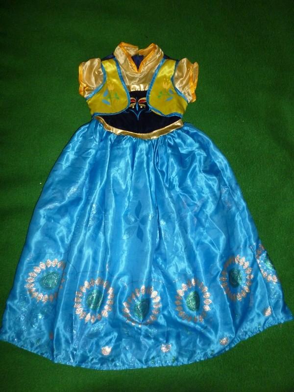 платье Анны эльзы на 9-11 лет