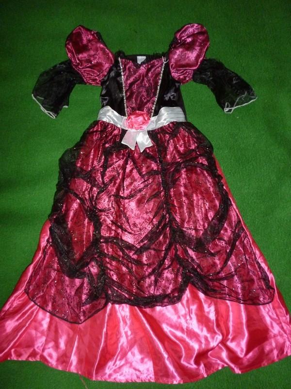платье феи,колдуньи на 6-7 лет
