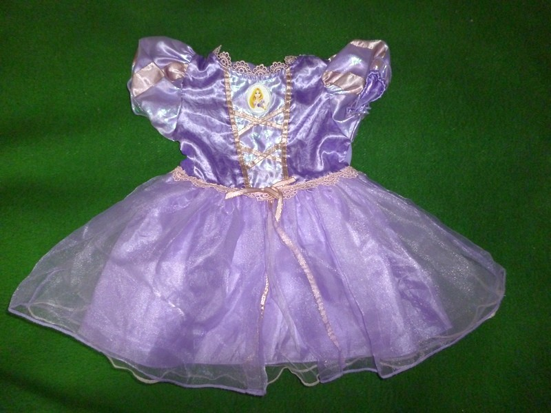 платье Рапунцель на 12-18 мес