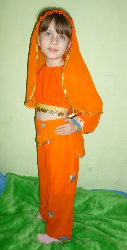 восточный костюм на 4-6 лет