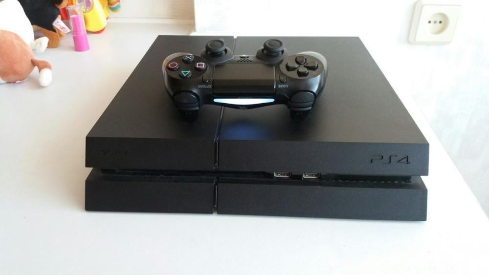 Sony PlayStation 4 (PS4) CUH-1216A Jet Black 500GB+игры с подпиской!!!