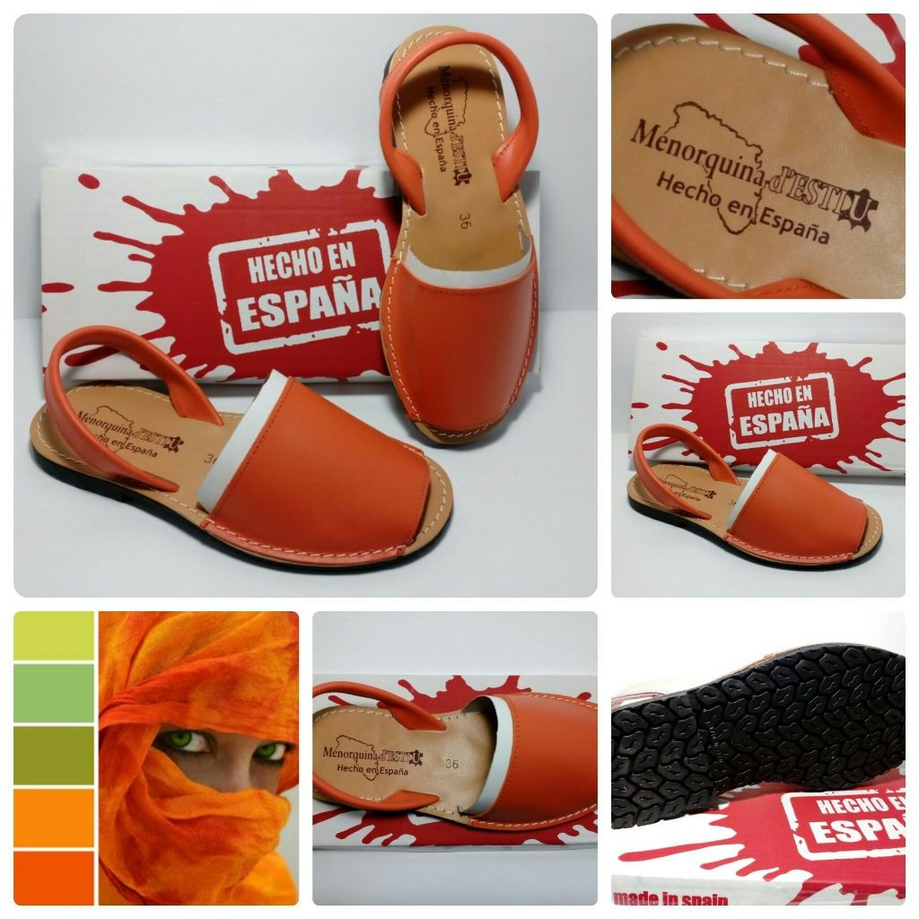 Менорки абаркасы национальная Испанская обувь, Натуральная кожа. В наличии!