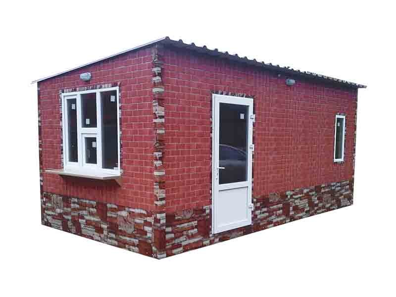 Дачный домик 6,0х3,5х2,8 м