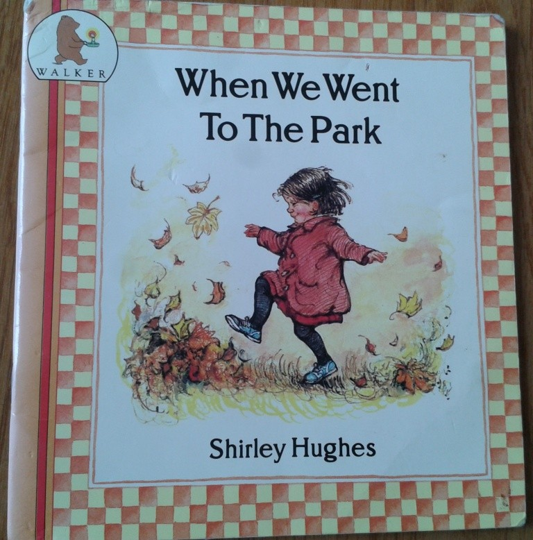 Shirley Hughes. When we went to the park. Книга на английском,