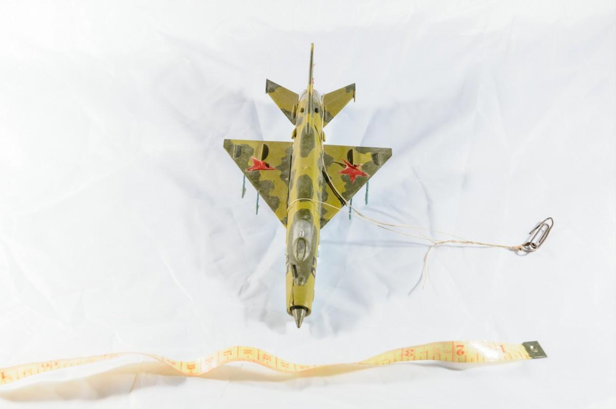 Модель самолёта Миг 21/модель фирмы FROG