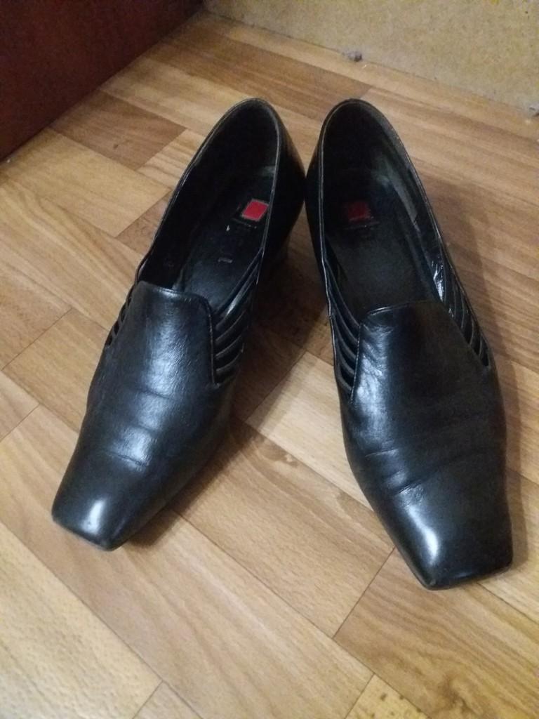 Женские кожаные туфли Hogl