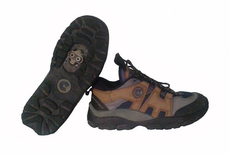 Вело туфли. Размер 39.5/25.5 см.