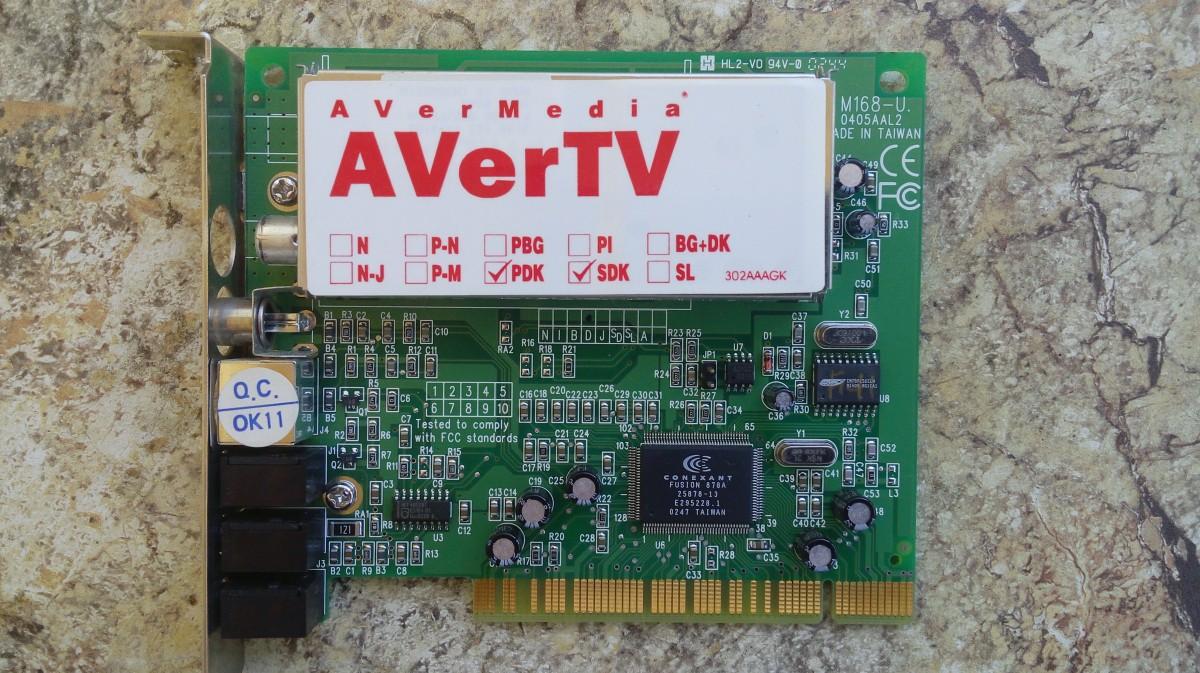TV Тюнер Avermedia  AVerTV