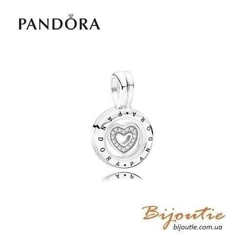 PANDORA шарм медальон с миниатюрным элементом 792144CZ