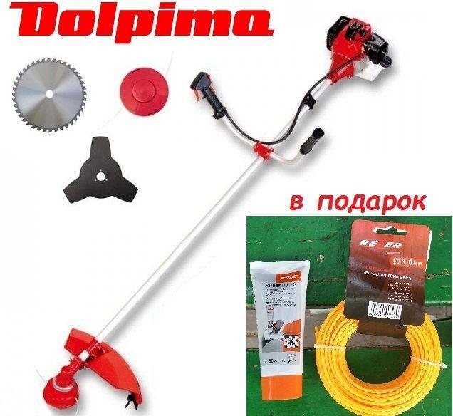 Dolpima PS-490 бензокоса. Сделано в Польше!