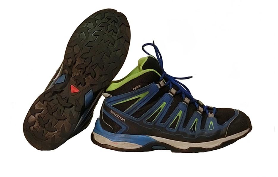 Ботинки треккинговые. Размер 37.5/24 см.
