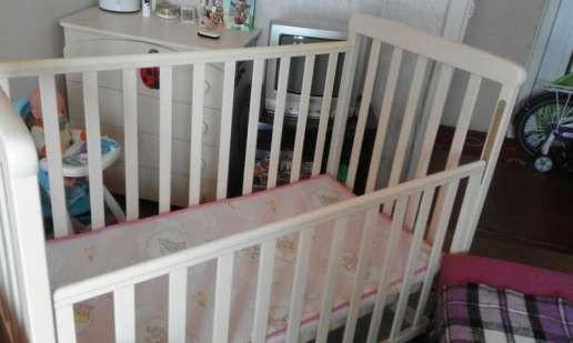 Детская кроватка Верес Соня ЛД-12 с матрасом из кокосового наполнителя