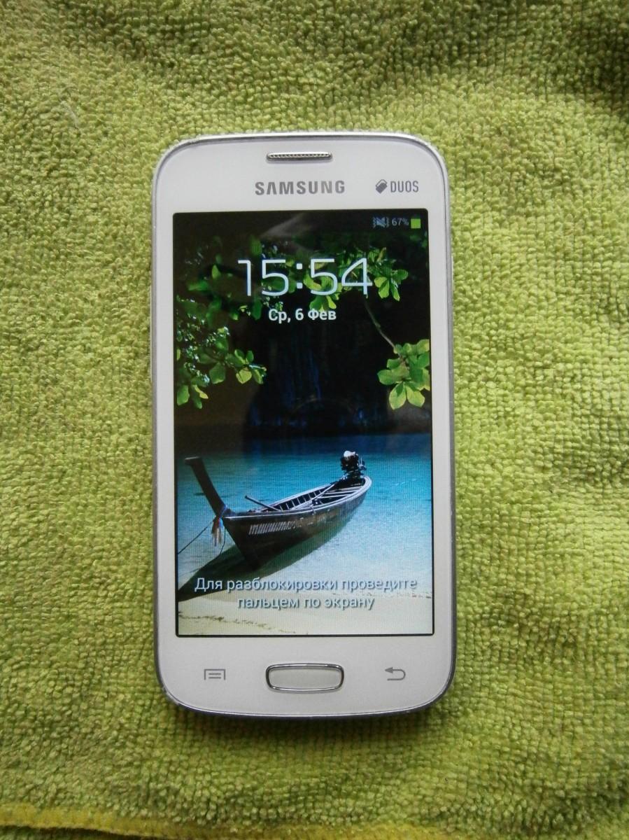 Mобильный телефон Samsung s7262 + чехол в подарок
